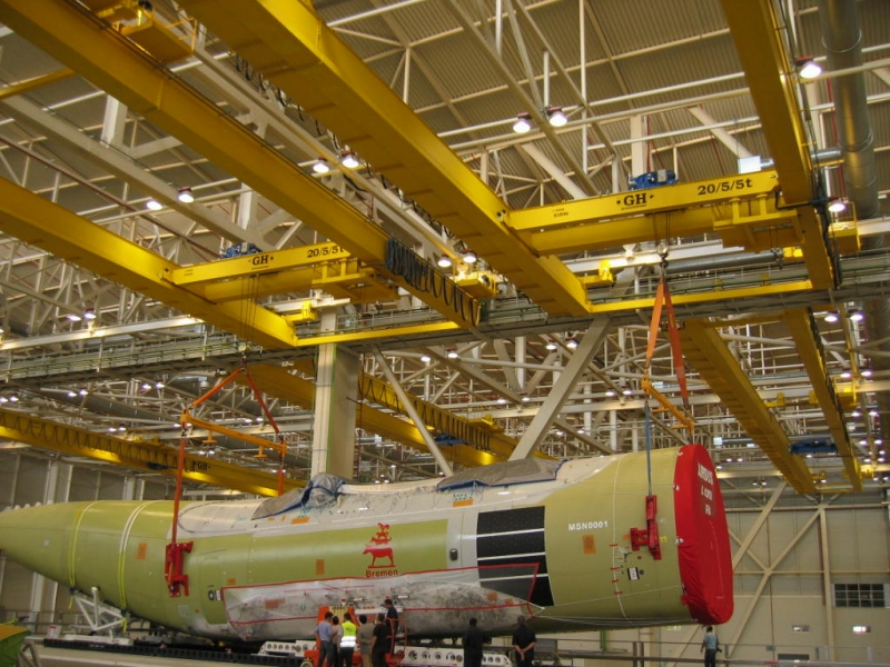 Ponts chez Airbus